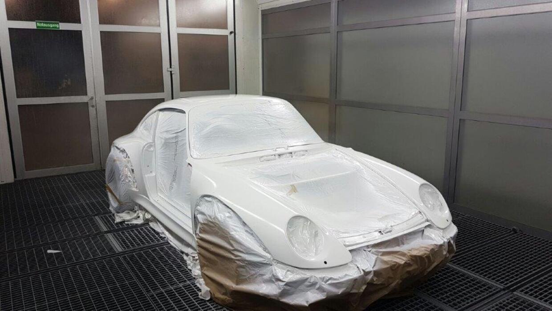 Vorbereitung Porsche